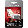 Photos EVO Plus UHS-I U3 - 512 Go + adaptateur