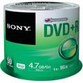Photos Pack de 50 DVD+R 120 mm 4.70 Go