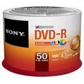 Photos Pack de 50 DVD-R 120 mm 4.70 Go