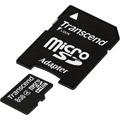Photos Micro SDHC 8 Go Class 4 + Adaptateur SD