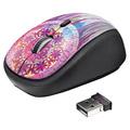 Photos YVI Wireless Mouse - purple dream catcher