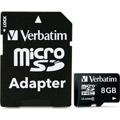 Photos Micro SDHC 8 Go Class 10 - Adaptateur SD
