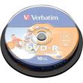 Photos Pack de 10 DVD-R 1.4 Go - 8 cm