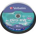 Photos Pack de 10 DVD-RW 4.7 Go - Revêtement SERL