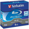 Photos Pack de 5 BD-RE SL 25GB 2x Jewel Case