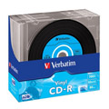 Photos Pack de 10 CD-R AZO Data Vinyl 700Mo 52x