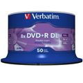 Photos Pack de 50 DVD+R DL 120 mm 8.50 Go